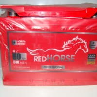 Акумулятор RED HORSE 12В 60Аг